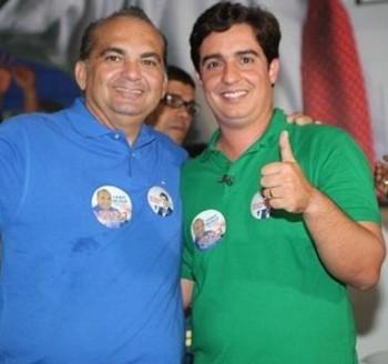 Na foto à esquerda Fábio Braga e à direita Ricardo Archer