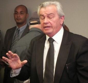 Presidente do Poder, deputado Arnaldo Melo.
