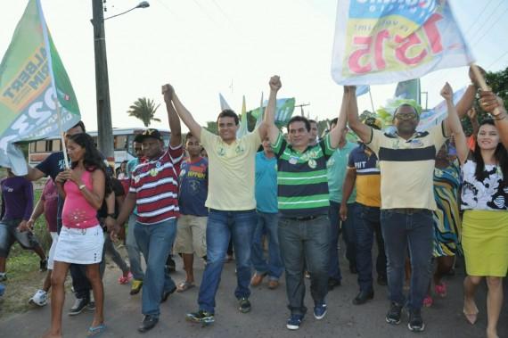 Em Turilândia, população e classe política já abraçaram a candidatura de Glalbert