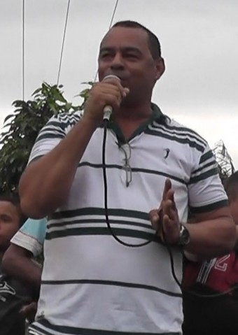 Prefeito de Bacuri, Baldoino Nery.