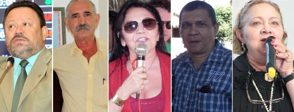 Ex-prefeito e prefeitos do Maranhão.