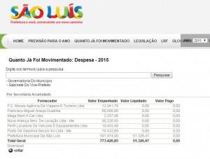 Senador Roberto Rocha ainda gera despesas para a prefeitura de São Luís, mesmo fora da administração municipal