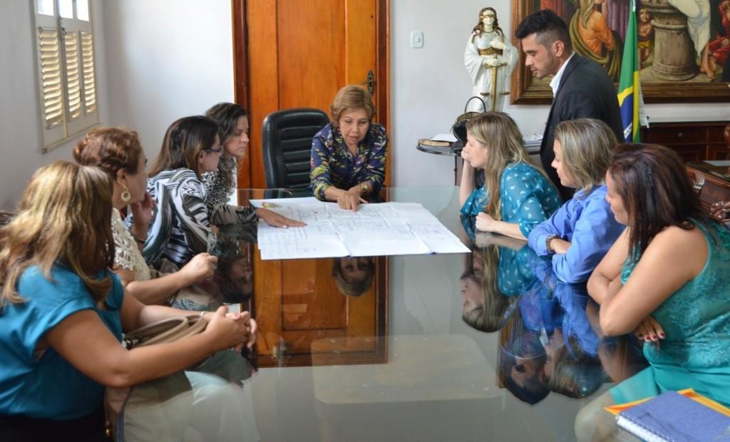 projeto das sedes Fundação da Cidadania e Casa da Criança (Foto:Ribamar Pinheiro).