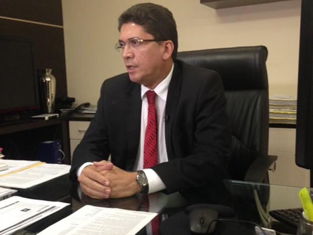 Jefferson Portela, secretário de Segurança Pública (Foto: Clarissa Carramilo/G1).