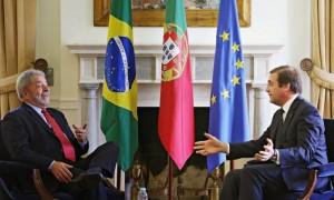 Lula e o primeiro-ministro de Portugal, Pedro Passos Coelho - 24-4-2014 / Roberto Stuckert Filho   Leia mais sobre esse assunto em http://oglobo.globo.com/brasil/documentos-mostram-que-lula-fez-lobby-para-odebrecht-em-portugal-cuba-16836400#ixzz3gN0hnM8A  © 1996 - 2015. Todos direitos reservados a Infoglobo Comunicação e Participações S.A. Este material não pode ser publicado, transmitido por broadcast, reescrito ou redistribuído sem autorização.