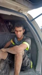 Edwerton Castro Pereira foi preso pela polícia