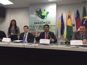 Deputado Wellington participa da 1ª Reunião do Parlamento Amazônico, em Manaus