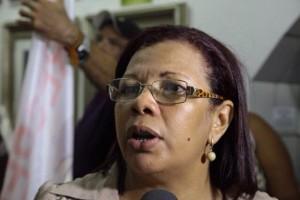 Elisabeth Castelo Branco, presidente do Sindeducação