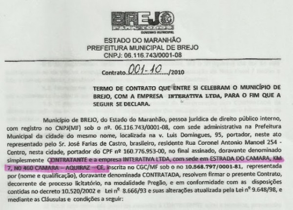 Em Brejo, mesmo com R$ 6 milhões empresa não pagou funcionários