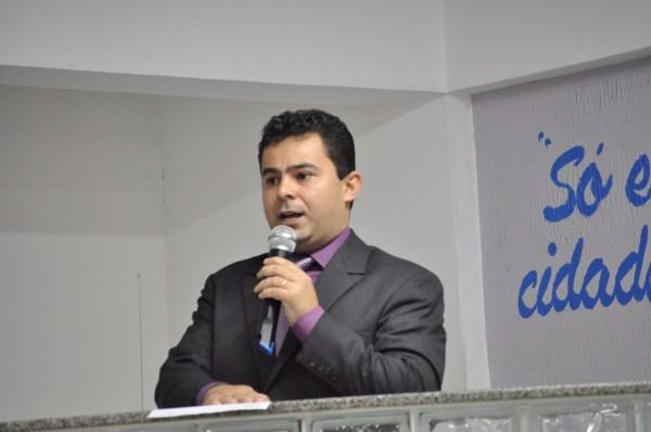 Eric Costa, prefeito de Barra do Corda