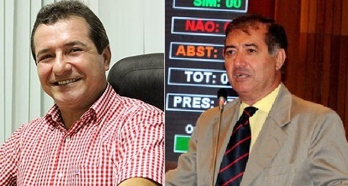 Helder Aragão, prefeito de Anajatuba e Carlos Braide