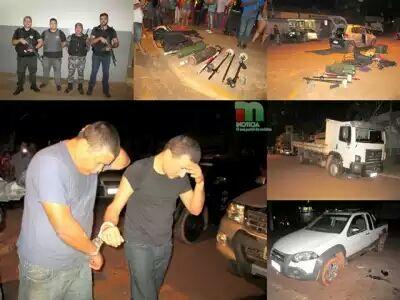 Ação da polícia impede assalto em Açailândia