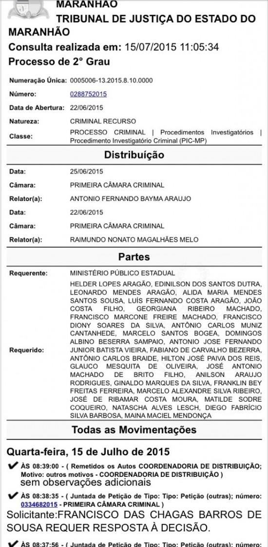 O desembargador da 1ª Câmara Criminal, João Santana, assume caso de corrupção em Anajatuba
