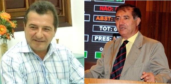 Prefeito de Anajatuba, Helder Aragão e o ex-deputado Carlos Braide.