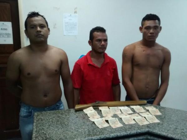 Suspeitos de assalto ao caminhão da Danone