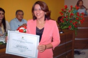 Ana Lúcia Rodrigues Cruz Mendes, prefeita de Presidente Vargas