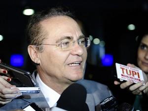 O presidente do Senado, Renan Calheiros (PMDB-AL) (Foto: Marcos Oliveira / Agência Senado)
