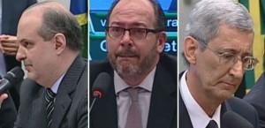 Dalton Avancini, Eduardo Leite e João Ricardo Auler foram condenados (Foto: Reprodução G1)