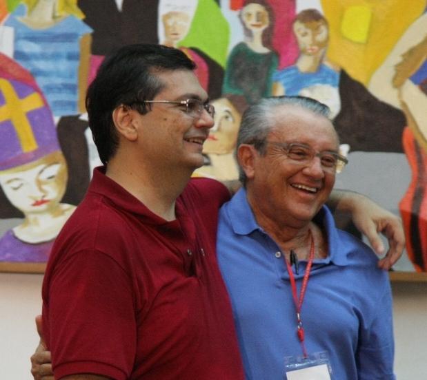 Dino e Reinaldo: amizade além da política.