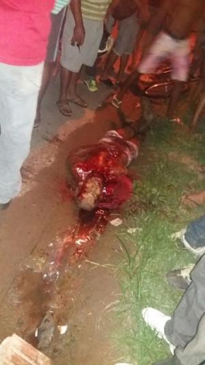 Elmary Silva Pereira foi morto a golpes de facão a pauladas