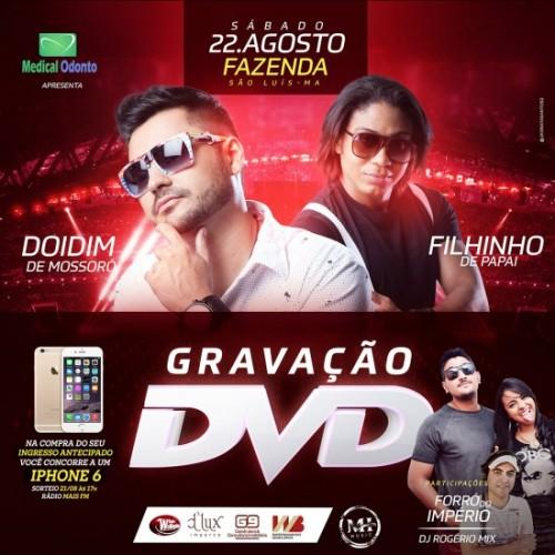 Gravação DVD