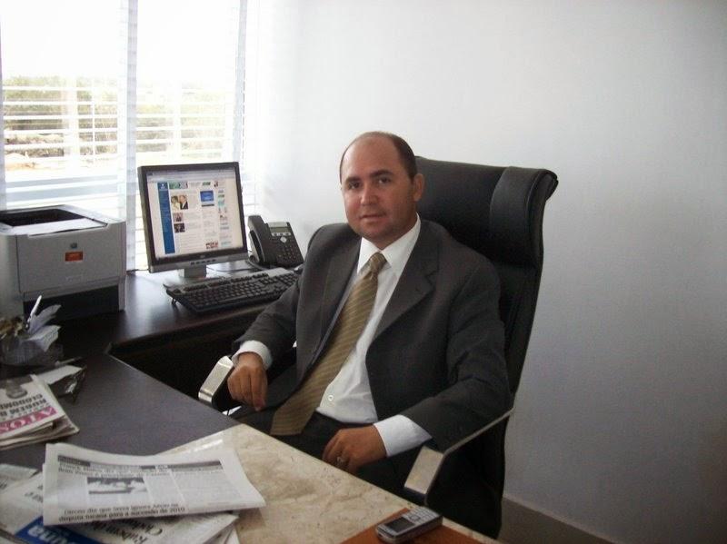 Robson Paz, secretário de Comunicação do Governo.