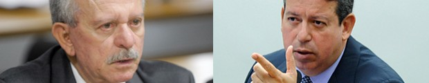 O senador Benedito de Lira (PP-AL) e o deputado Arthur Lira (PP-AL), denunciados pelo procurador-geral da República (Foto: Montagem: Marcos Oliveira/Agência Senado e Luis Macedo/Câmara dos Deputados)