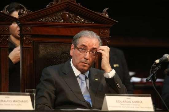Presidente da Câmara Federal, Eduardo Cunha.