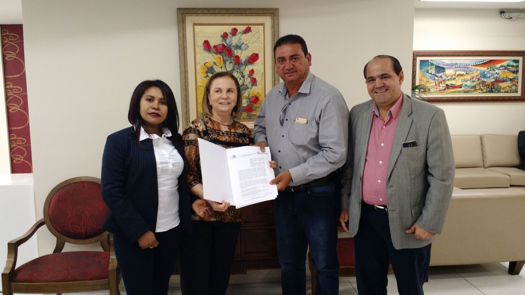 MPMA e município de São João Batista assinaram aditivo ao Termo de Doação de terreno