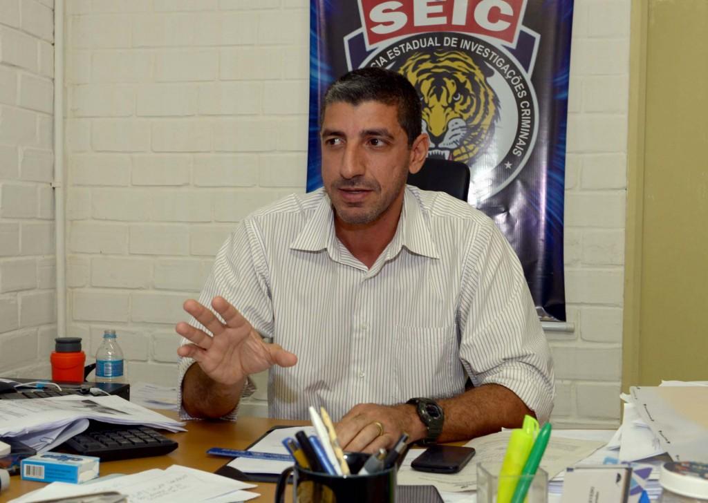 Delegado André Gossain.