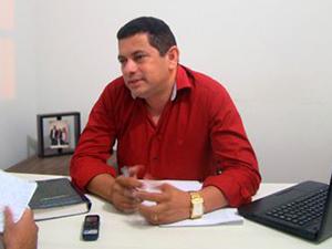 Magno Amorim, prefeito de Itapecuru.