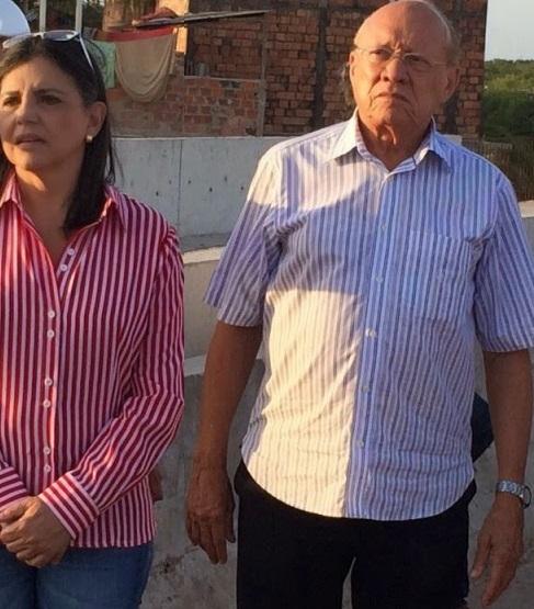 Ex-governadora Roseana Sarney e senador João Alberto, ambos do PMDB.