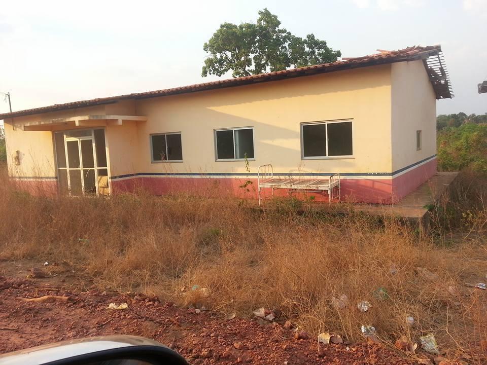 Posto de Saúde de Cocos, povoado de Mirador.