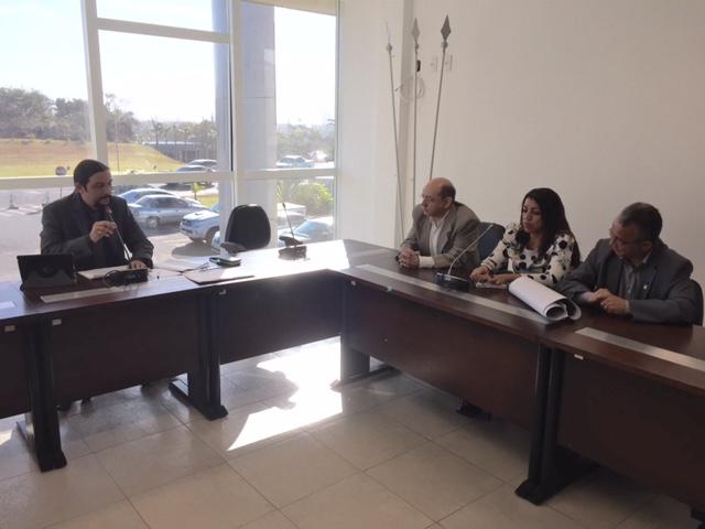 Reunião para tratar sobre limites territoriais entre São Luís e São José de Ribamar.