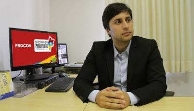 Presidente do Procon-MA, Duarte Júnior.