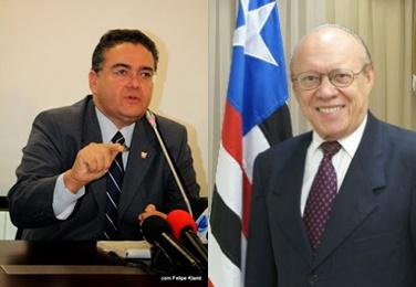 Senadores maranhenses, Roberto Rocha e João Alberto.