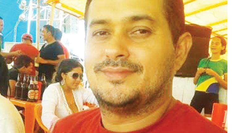 Roberto Lano, blogueiro assassinado.