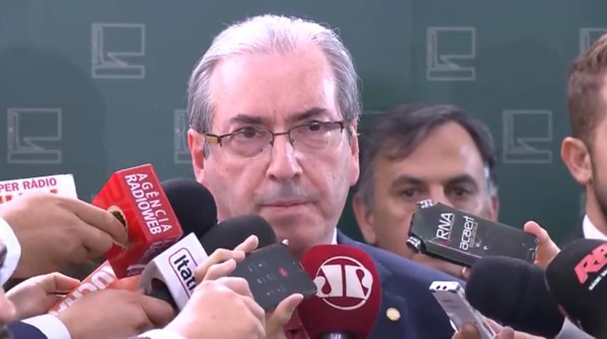 Deputado Eduardo Cunha.