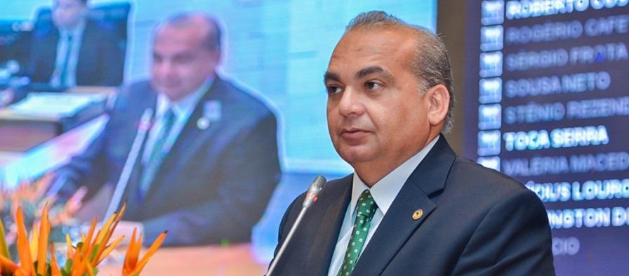 Deputado estadual, Fábio Braga.