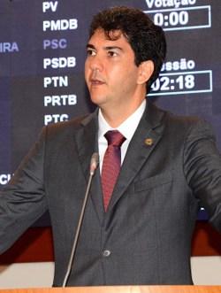 Deputado estadual, Eduardo Braide.