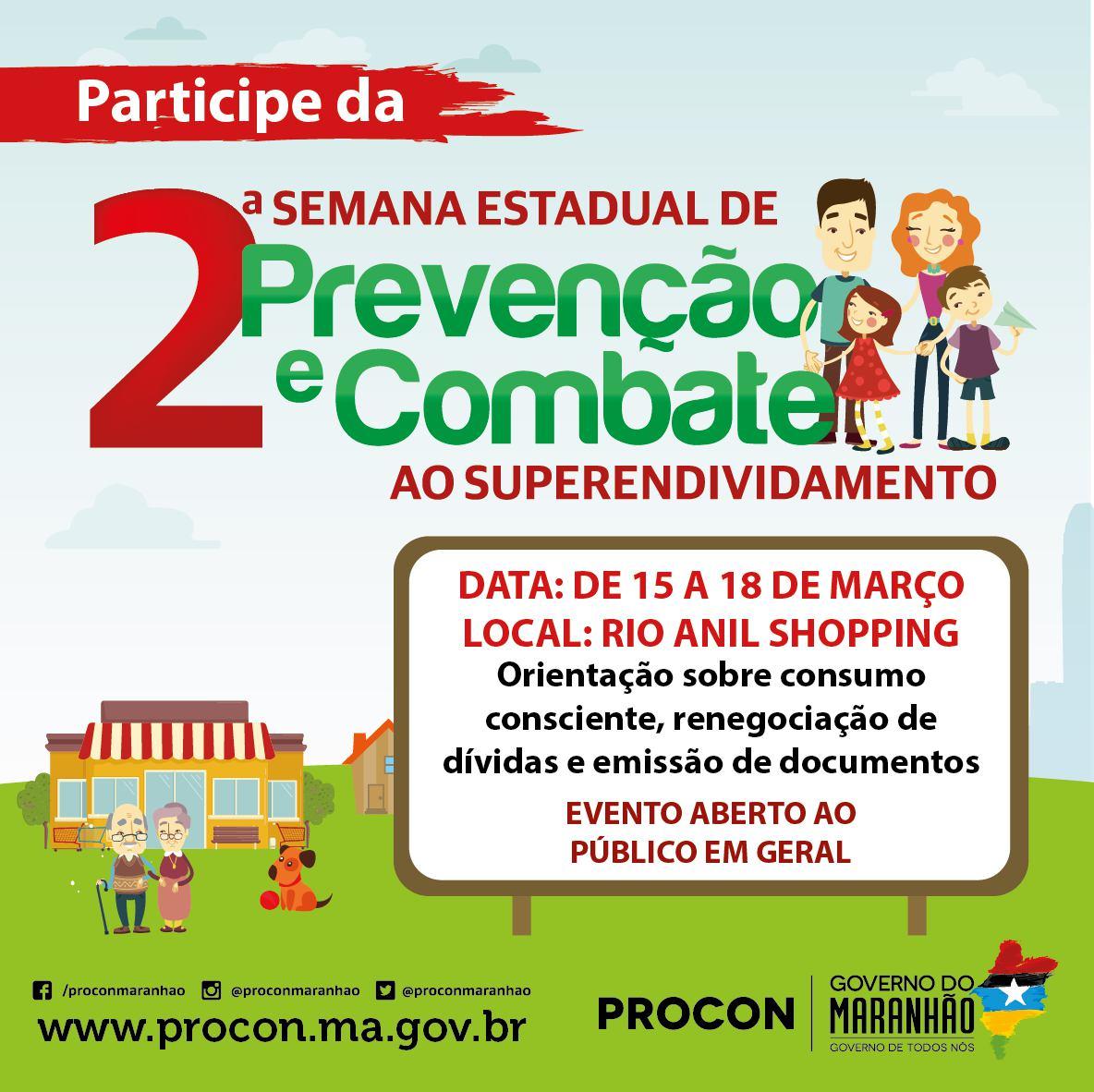 Foto _ 1 Divulgação_Procon Saiba como renegociar suas dívidas na Semana de Prevenção e Combate ao Superendividamento do PROCON MA