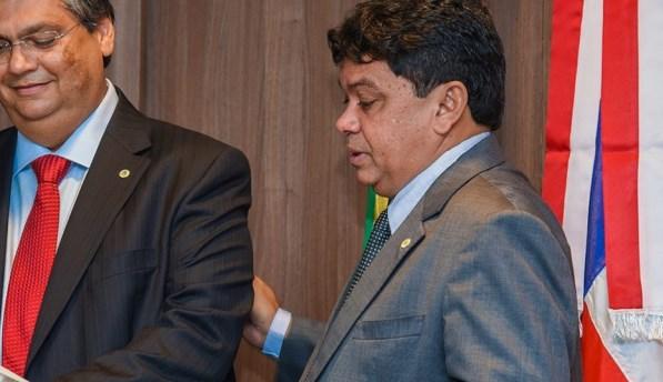 Flávio Dino e Márcio Jerry.