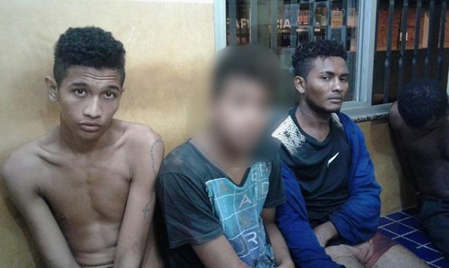 Os-policiais-invadiram-a-residência-e-os-bandidos-ao-avistarem-as-guarnições-começaram-a-atirar