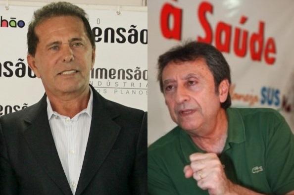 Barbosa Alencar, da Dimensão Engenharia e Ricardo Murad.