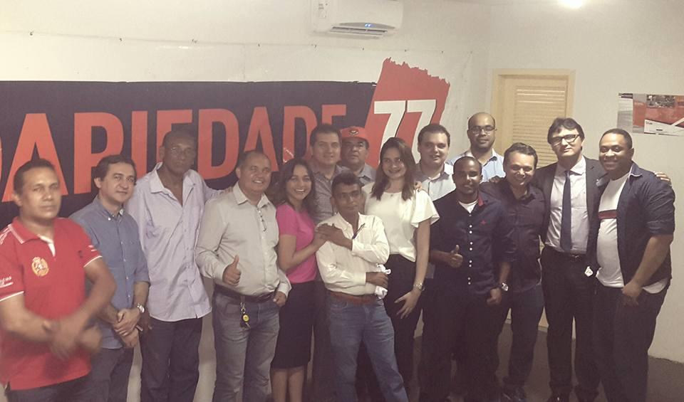 Foto 1 - Diretório do Solidariedade em São Luís com a candidata Eliziane Gama