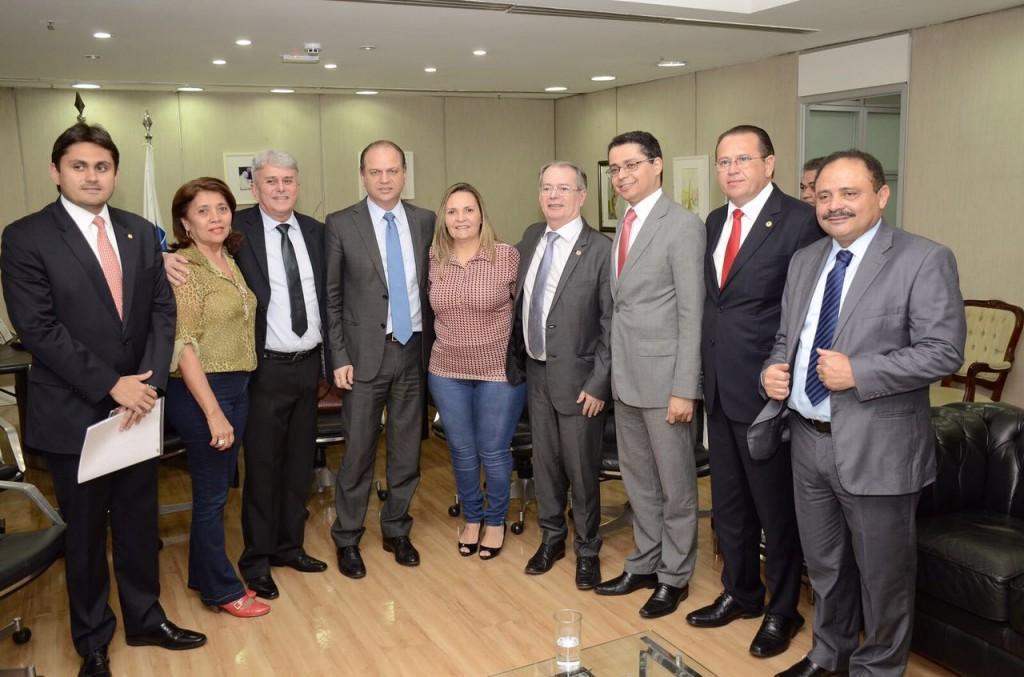 Foto2_Divulgação_100816 - Comitiva da Saúde em Brasília