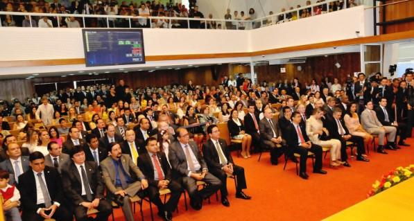 Plenário da Assembleia Legislativa. (foto ilustração).