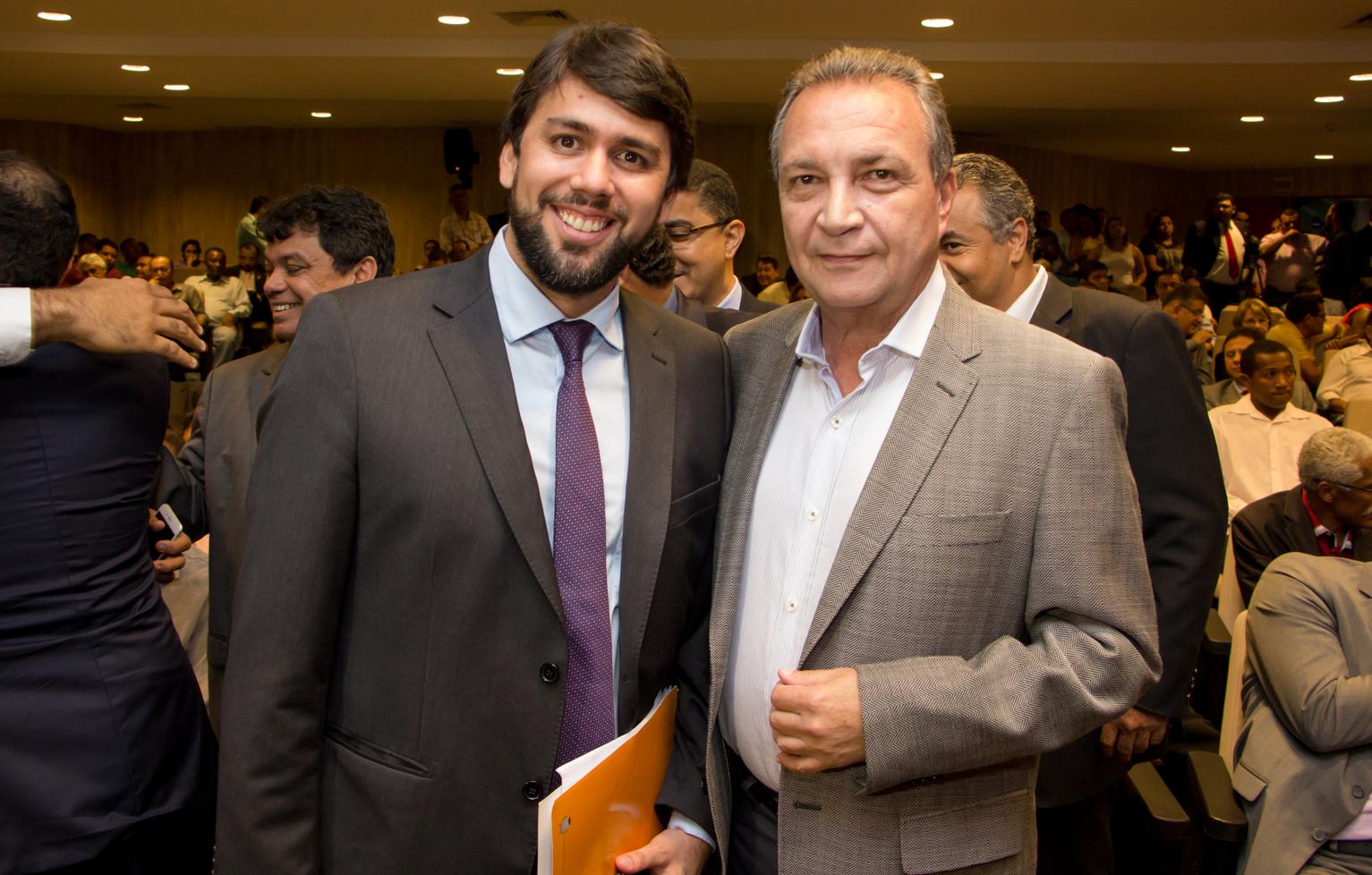 Foto 1 - Luis Fernando com Pedro Lucas