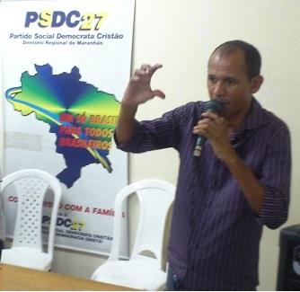 Alan Kardeck, Secretário Estadual do PSDC.