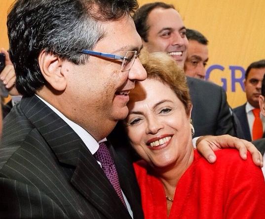 Flávio Dino teria convidado Dilma para disputar Senado pelo Maranhão